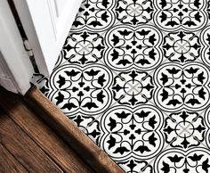 Tile Decals Stickers for Kitchen Backsplash Floor Bath Removable Waterproof: Tile Decals, Wall Tiles, Vinyl Tiles, Wall Waterproofing, Linoleum Flooring, Floors, Home Decor Trends, Bathroom Wall, Bathroom Ideas