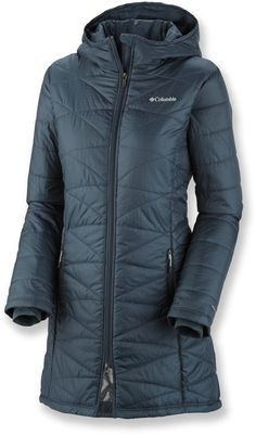 Columbia Mighty Lite Hooded Jacket- Super lightweight coat that warms using your body heat!
