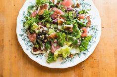 Halloumi and Grapefruit Salad  http://food52.com/recipes/36044-halloumi-and-grapefruit-salad