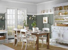 Benjamin Moore Paint Colors - Gray Dining Room Ideas - Graceful Gray Dining Room - Paint Color Schemes