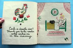 my vintage avenue !!! 50's and 60's illustrations !!!: the thank-you book by françoise, 1947.