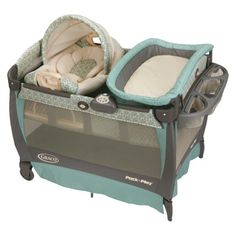 Graco Pack-n-Play Playard with Cuddle Cove Rocking Seat - Winslet