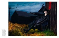 the Fashion Spot - View Single Post - Vogue Paris September 2012 : Kate Moss…