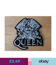 a83cd82db84 Collectables Patches Punk Rock Heavy Metal Music Sew   Iron On Patch -  Queen Freddie