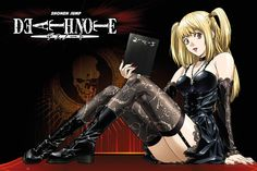 Death Note Misa Amani - Official Poster. Official Merchandise. Size: 61cm x 91.5cm. FREE SHIPPING