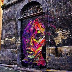 By Hopare avec Jorge Araujo Loures #streetart