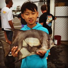 My son caught all 5 Spade fish on this trip.