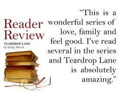 TEARDROP LANE has a 4 out of 5 star review on Goodreads! Check out what else people are saying about it: https://www.goodreads.com/book/show/20985426-teardrop-lane
