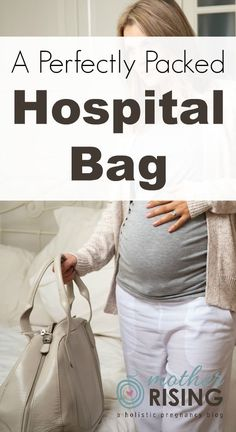 How to pack a hospital bag: This list has the details on what to pack for mom, dad and baby for birth and postpartum.