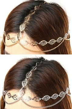 its a silver head chain. we can carry it with traditional outfits and even with western look Chain Headband, Chain Headpiece, Headdress, Head Jewelry, Body Jewelry, Chain Jewelry, Head Accessories, Fashion Accessories, Hair Chains
