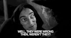 Marty Feldman in Young Frankenstein.