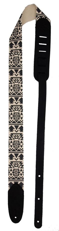 """Southwestern-inspired designs in an incredibly comfortable, strong, and stylish guitar strap - The center sections of guitar straps are made from light yet durable 2"""" wide cotton - Deep dyed multi-col"""