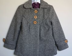 viola & pearl: simplicity sewing pattern 2876, little girls coat