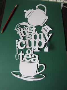 Samantha's Papercuts: Tea again...