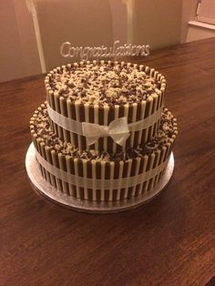 Chocolate Heaven, Chocolate Cake, Candy Cakes, Cupcake Cakes, Beautiful Cakes, Amazing Cakes, Brown Wedding Cakes, Bithday Cake, Cake Decorating Techniques