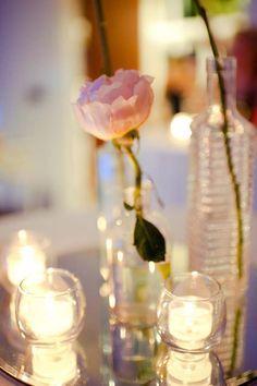 romantic simple centerpiece