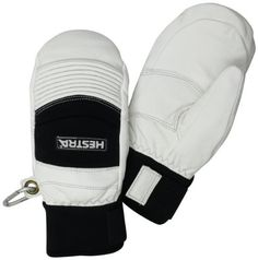 Hestra Men's Ski Cross Mitt, Off White/Black, X-Large by Hestra. $134.95. A short tight fitting mitt made from supple cowhide leather. This model offers flexibility with a firm pole grip.