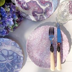 Histology: The study of the microscopic anatomy of cells and tissues. These plates are made from the actual images of prepared human tissue section. Medical Student, Medical Science, Human Tissue, Cells And Tissues, Evans, Microscopic Images, Cake Plates, Dessert Plates, Things Under A Microscope