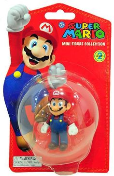 Mario - Super Mario Mini Figure Collection Series 2 (5cm)  Manufacturer: Together Enarxis Code: 011078 #toys #figures #Mario #Nintendo #videogames