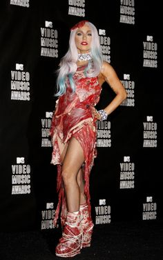 "Lady Gaga Signs Book Deal for Post-Apocolyptic Science Fiction Novel, ""Meat Suit"""