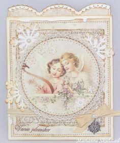 A christmas card featuring the Silent Night collection