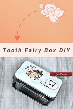Smile! There's a fun DIY project today that I want to show you how to make - a tooth fairy box! This is a quick and simple craft idea that can be made with tins that are new or upcycle those altoid tins and make this craft like magic. This project can easily be adapted for other types of celebrations too. Learn more at www.lisasstampstudio.com #toothfairyboxdiy #toothfairyideas #upcyclecrafts #craftideas #craftideastosell #craftfairitems #recycledcrafts #lisacurcio #lisasstampstudio…