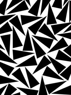 black triangle pattern georgiana paraschiv
