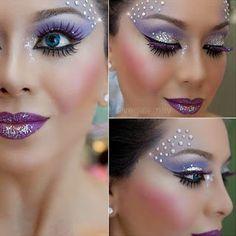 Ucho5a: Maquiagem de fada