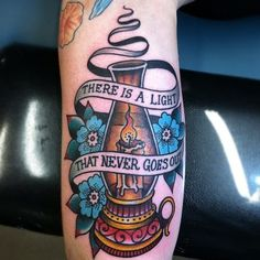There is a light that never goes out #tattoo - of course I love this!