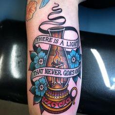 Lantern memorial tattoo. #tattoo #tattoos #ink