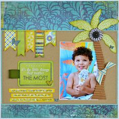 A Project by izzy b from our Scrapbooking Gallery originally submitted at PM Photo Layouts, Scrapbook Page Layouts, Scrapbooking Ideas, Scrapbook Sketches, Scrapbook Paper Crafts, Scrapbook Cards, Feelin Groovy, We R Memory Keepers, Summer Fun