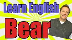 English Lesson with a Grizzly Bear -- Live English Event