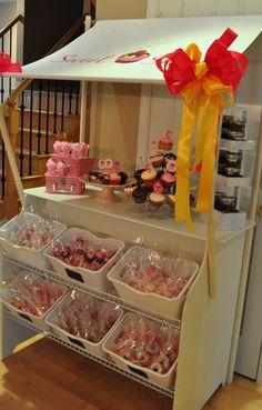 cupcake bakery birthday party 009