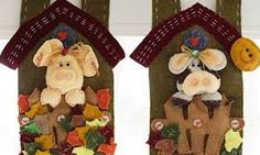 Resultado de imagen para cenefas navideñas hechas de casas