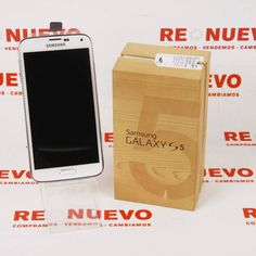 #Móvil #SAMSUNG #S5 #SM-GF900F #Vodafone E270279 de segunda mano | Tienda de Segunda Mano en Barcelona Re-Nuevo #segundamano