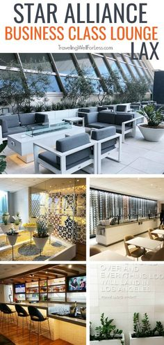 Is the Star Alliance Business Class Lounge LAX worth visiting? The lounge is on the sixth floor after security and accessible to certain passengers. Travel Reviews, Travel Deals, Travel Gifts, Solo Travel, Travel Usa, Airline Travel, Air Travel, Travel Advice, Travel Articles