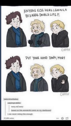 Picture result for funny Johnlock comics lol phineas and ferb Note - Sherlock Holmes - # Picture result # for Sherlock Holmes Bbc, Sherlock Fandom, Sherlock John, Funny Sherlock, Sherlock Poster, Sherlock Moriarty, Sherlock Season, Sherlock Series, Sherlock Quotes