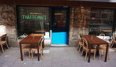 Nyöppnat! Adam Dahlberg och Albin Wessman har gjort succé med sina nudelluncher. Från och med nu serveras de i egen lokal vägg i vägg med omgjorda restaurangen Adam/Albin.
