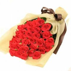 Product Code: Product Description Bunch of 24 Red Roses Send this awesome Bouquet of 24 Red Roses wrapped in Brown Jute Paper,Awsome Gift idea to pamper your Love Online Flower Shop, Online Flower Delivery, Flowers Online, Send Flowers, Fresh Flowers, Online Florist, Valentines Flowers, Flowering Trees, Rose Bouquet