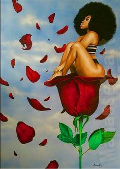 65 Ideas for black art queens goddesses african americans Art Black Love, Sexy Black Art, Black Girl Art, Art Girl, Black Girls Drawing, Black Art Painting, Black Artwork, Arte Dope, Dope Art
