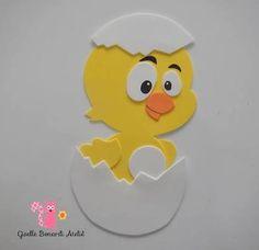 galinha pintadinha de eva e embalagem de ovo - Pesquisa Google