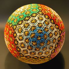 A 92-Year-Old Grandmother Creates A Spectacular Collection Of Embroidered Temari Spheres