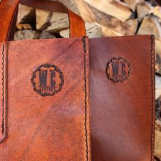 Rustic Handcrafted Leather Goods by WillowCreekLeatherCo on Etsy