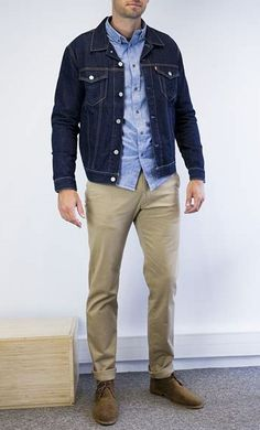 Country Man, Man Office, Rugged Style, Work Week, Denim Jackets, Classic Man, Men's Style, Casual Shirts, Gentleman