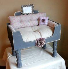 VintageInfused.com, Upcycled Pet Beds. Love 'em!