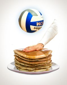 Breakfast of (Volleyball) Champions #Molten #Volleyball