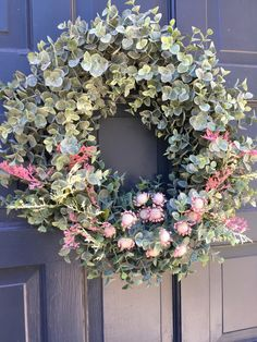 Wreath from Marshalls dressed up