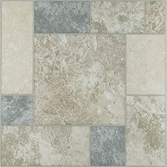180 Pieces Peel and Stick Vinyl Floor Tile Self Stick Marbel Stone looking Tiles Adhesive Flooring 12''x12'' 327
