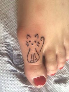 small cat tattoo #YouQueen #ink #girly #tattoos