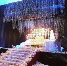 Wedding Reception Lighting, Wedding Reception Backdrop, Wedding Mandap, Tent Decorations, Wedding Stage Decorations, Wedding Prep, Wedding Planning, Dream Wedding, Indian Wedding Receptions